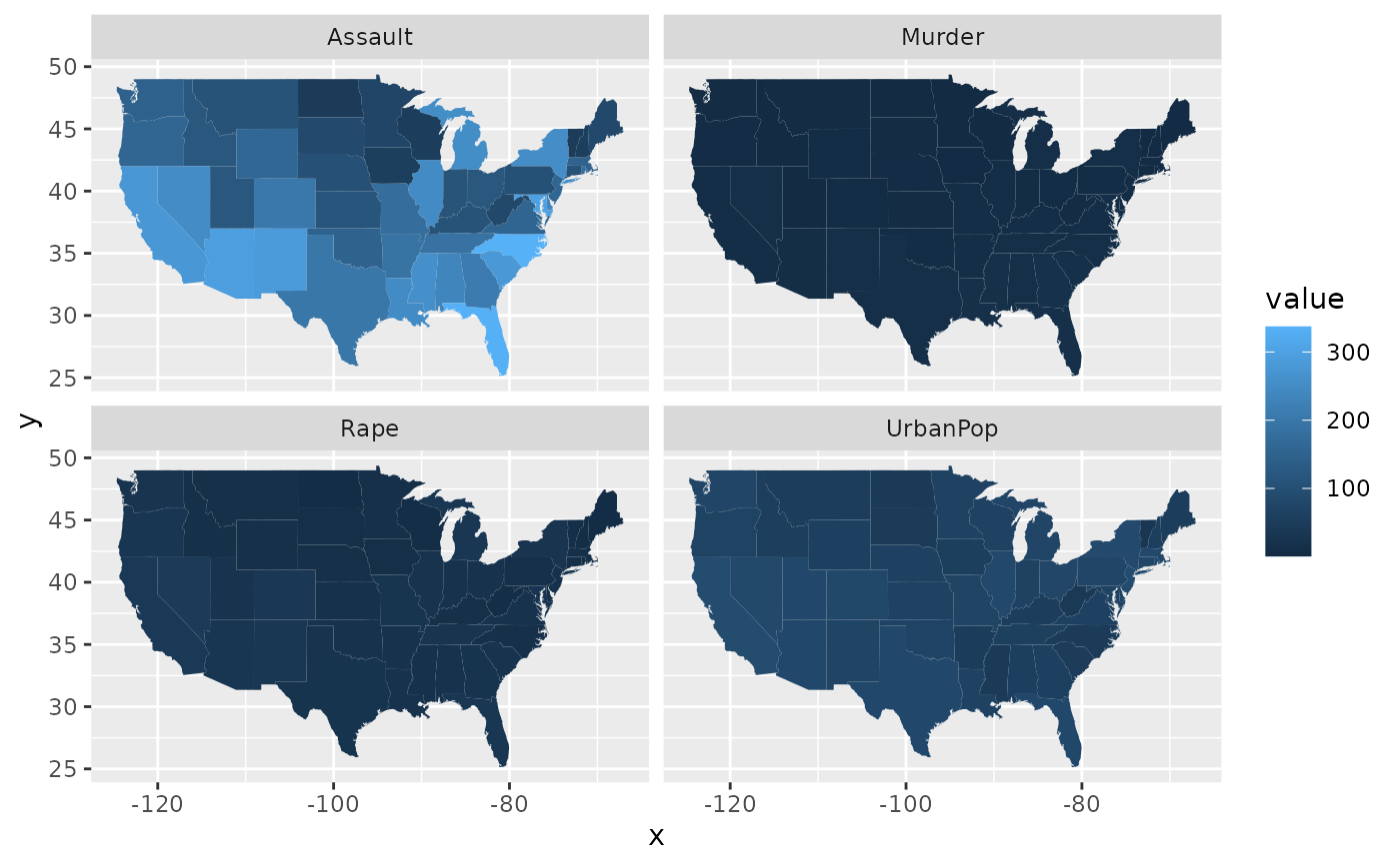 Ggplot World Map.Polygons From A Reference Map Geom Map Ggplot2